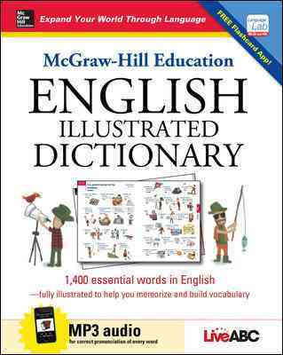 McGraw-Hill Education English Illustrated Dictionary By Liveabc (COR)